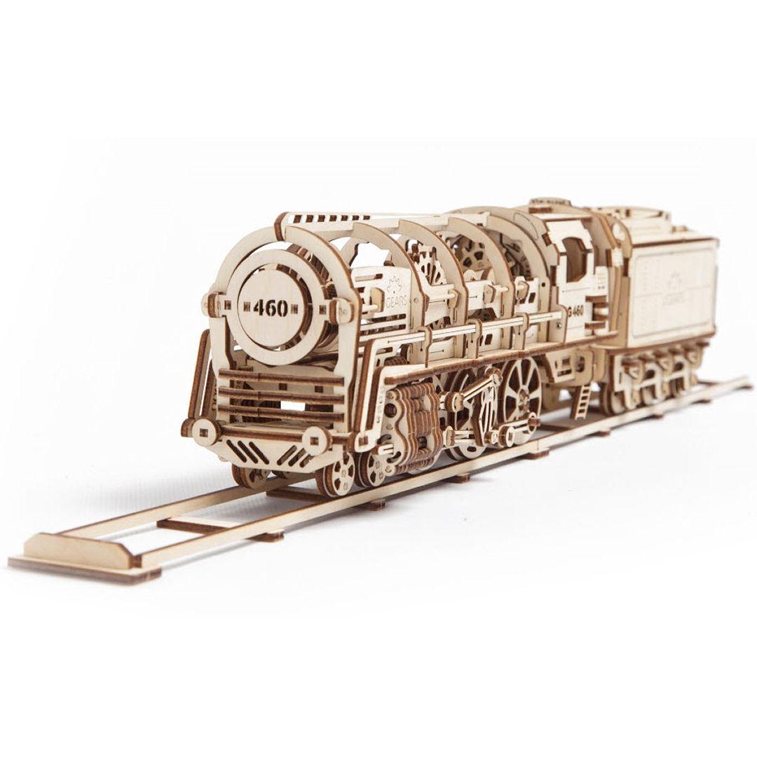 UGEARS Locomotora con ténder
