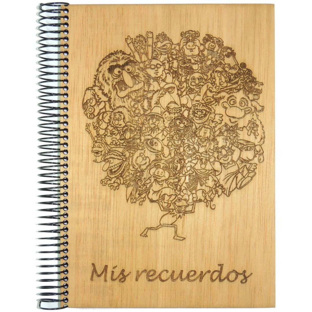 Libreta Teleñecos Recuerdos