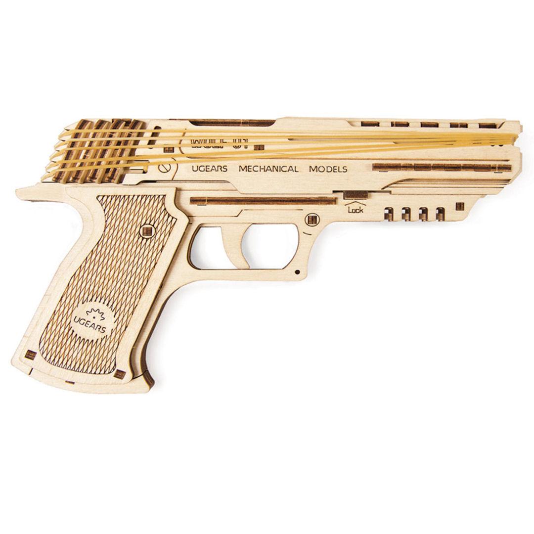 UGEARS Pistola Wolf-01