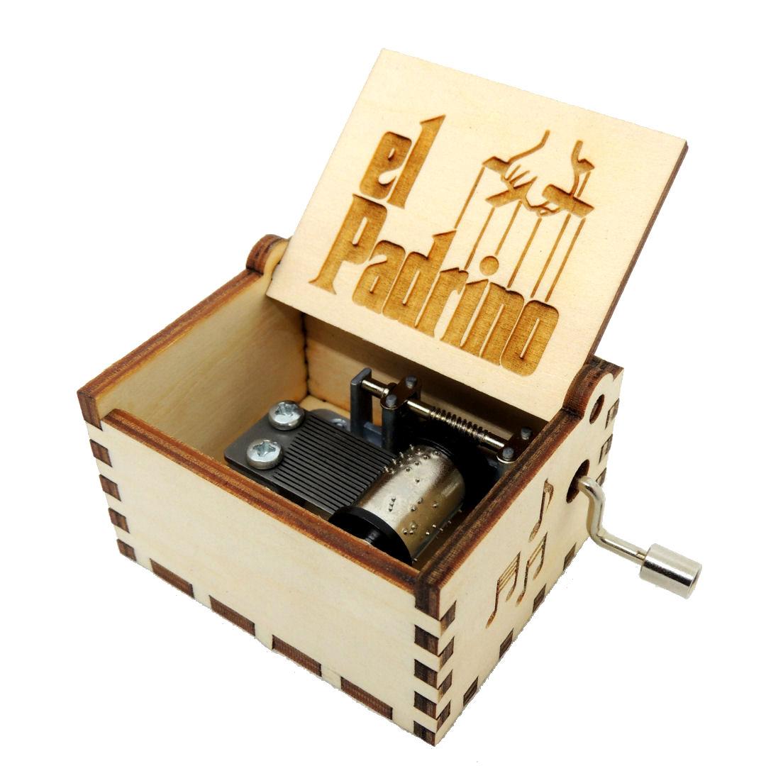 Caja Musica El Padrino 01