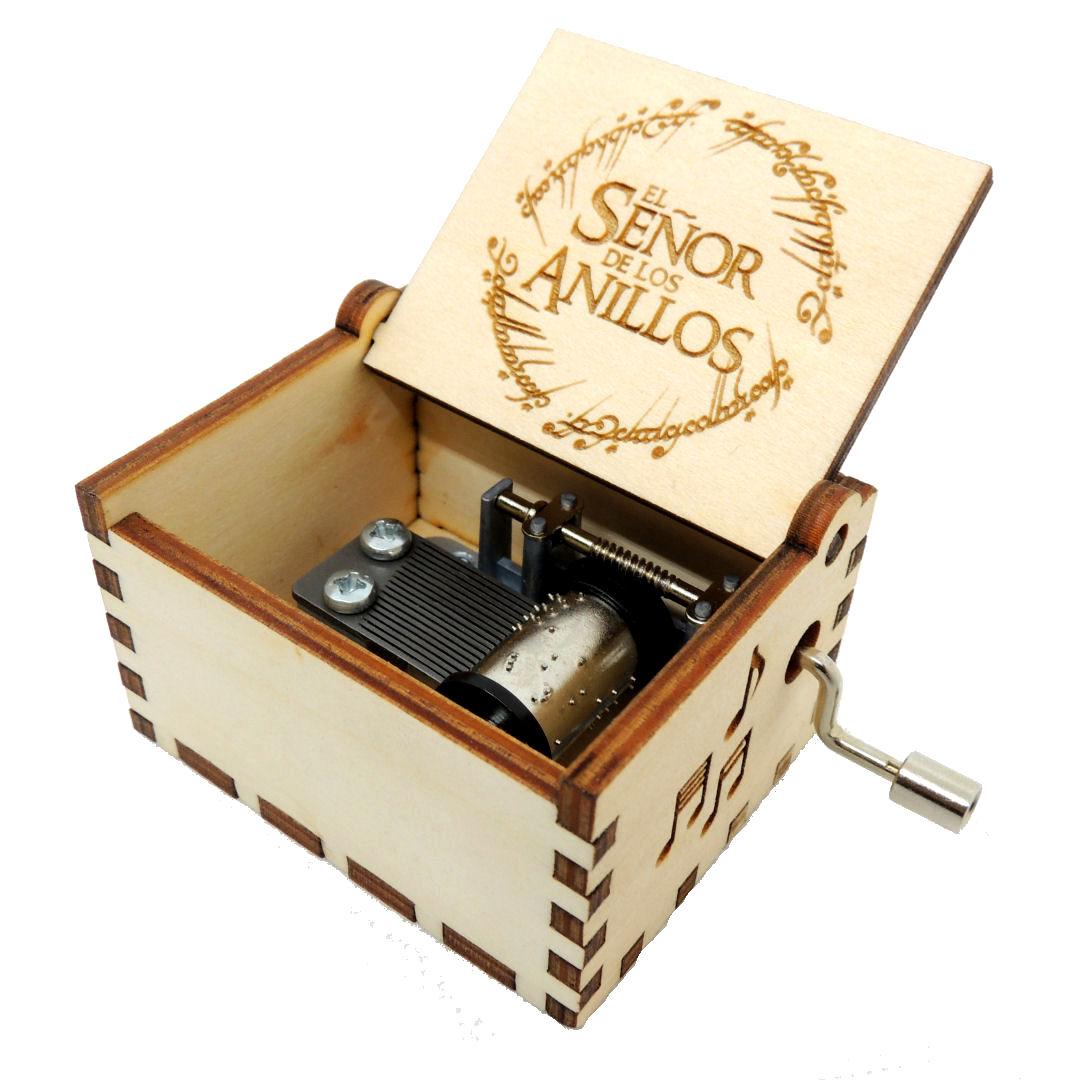 Caja Musica El Señor de los Anillos 01