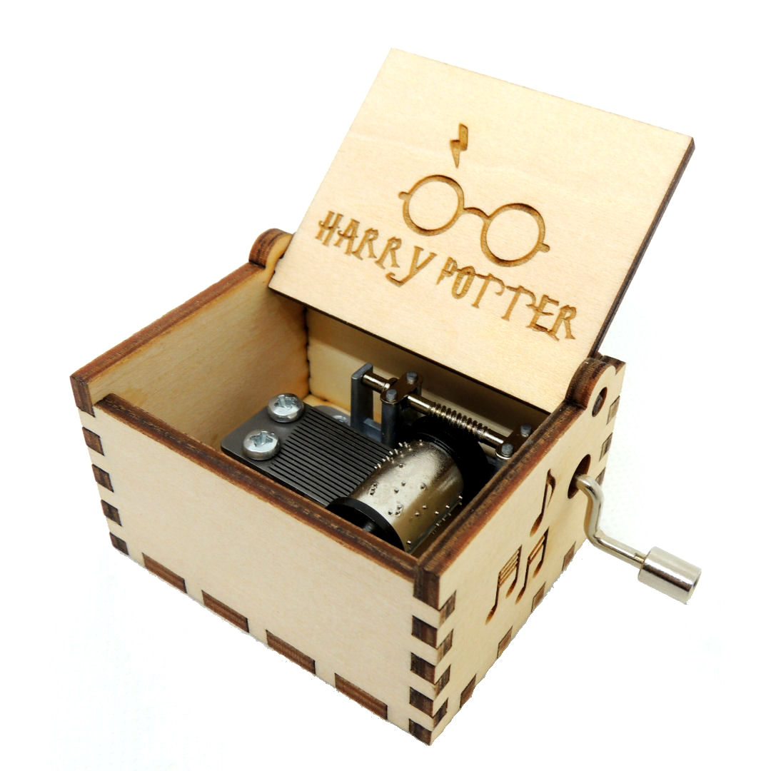 Caja Musica Harry Potter 01