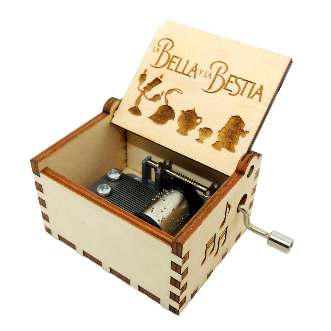 Caja Musica La Bella y la Bestia 01
