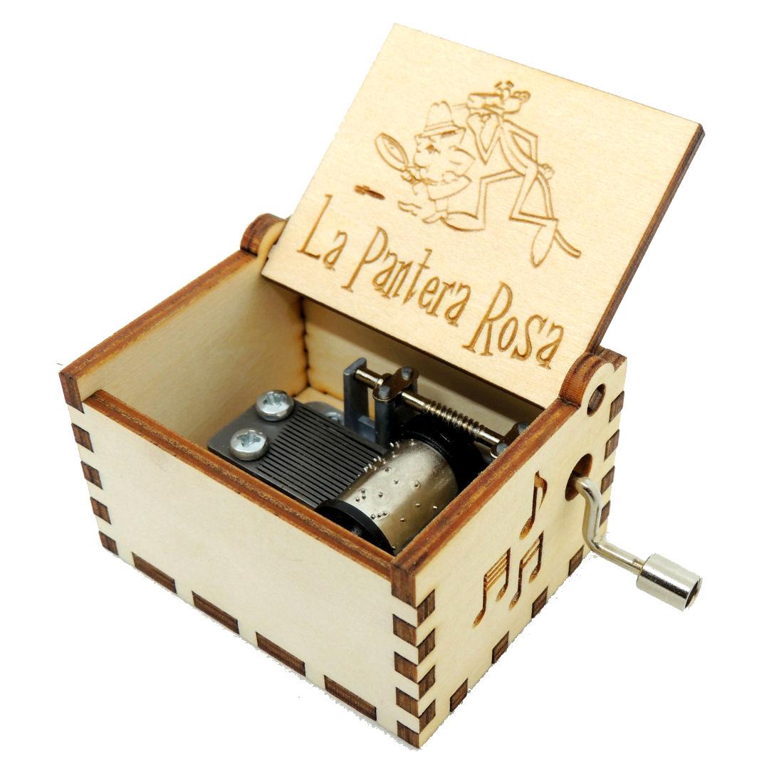 Caja Musica Pantera Rosa 01